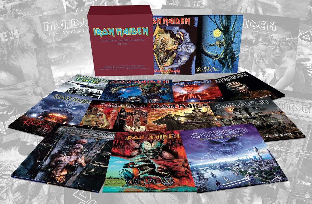 Iron Maiden vinyl to be reissued