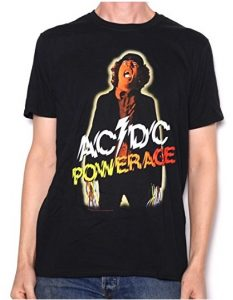 AC/DC T Shirt - Powerage 100% Official