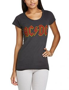 Amplified Women's ACDC Logo Short Sleeve T-Shirt