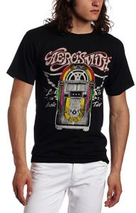 Aerosmith - Mens Let The Music T-shirt