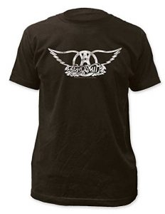 Aerosmith - Mens Logo Fitted Jersey T-Shirt