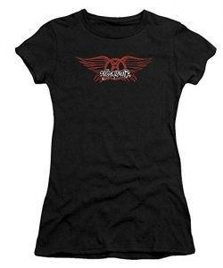 Aerosmith - Womens Winged Logo T-Shirt