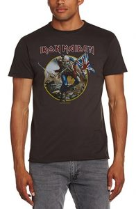 Amplified Men's Ironmaiden Trooper Short Sleeve T-Shirt