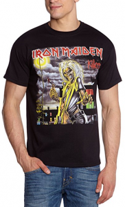 Iron Maiden Men's Killers Cover Short Sleeve T-Shirt