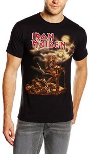 Iron Maiden Men's Sanctuary Short Sleeve T-Shirt