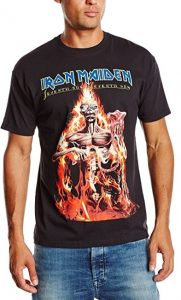 Iron Maiden Mens Seventh Son Short Sleeve T-Shirt