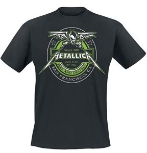 Metallica 100% Fuel - Seek And Destroy T-Shirt black