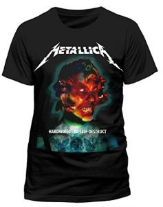 Metallica Hardwired...To Self-Destruct T-Shirt black