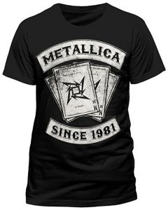 Metallica Men's Dealer Short Sleeve T-Shirt