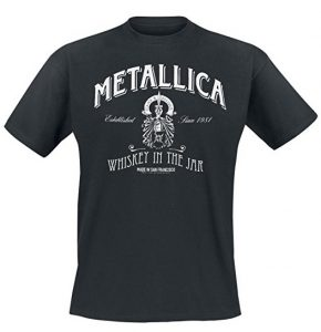 Metallica Whiskey In the Jar T-Shirt black L