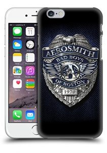 Official Aerosmith Bad Boys Of Boston Logos Hard Back Case for Apple iPhone 6 / 6s