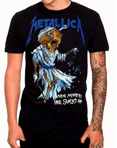 Official Metallica - Dorris - Black Cotton T Shirt