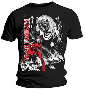 Official T Shirt IRON MAIDEN No. of The Beast