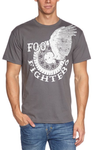 FOO FIGHTERS Men's Winged Wheel Short Sleeve T-Shirt
