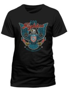 Foo Fighters Eagle Official Dave Grohl Rock Heavy Metal Tee T-Shirt Top Mens Ladies Womens Unisex