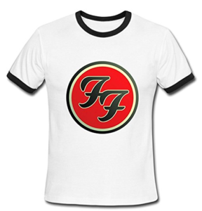 Foo Fighters Logo Short Sleeve Tshirt Tee