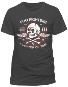 Foo Fighters Men's Matter of Time Short Sleeve T-Shirt