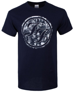 Foo Fighters Sonic Highways - City Circles T-Shirt blue