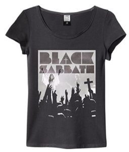Official Amplified - Black Sabbath - Victory - Womens Crew Neck T Shirt