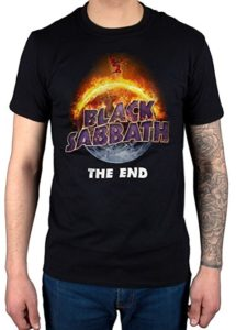 Official Black Sabbath The End Tour 2016 T-Shirt
