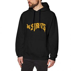 The Struts Logo Man Warm Black Hoodies Sweatshirt Hooded Sweatshirt Shirt