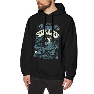 Mens Sweatshirt The Struts Cotton Crewneck Sweatshirt Black for Mans Fashion Hooded Sweatshirt
