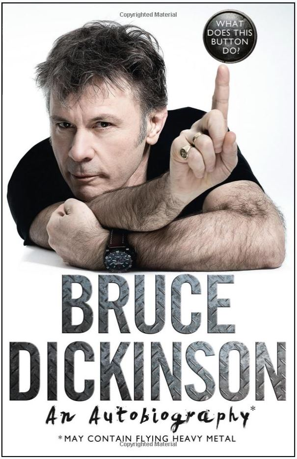 An evening with Bruce Dickinson - Six UK Shows announced on Spoken World tour. 3
