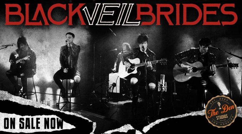 Black Veil Brides Announce Unplugged A Global Virtual Acoustic Experience Scheduled For April 30th.