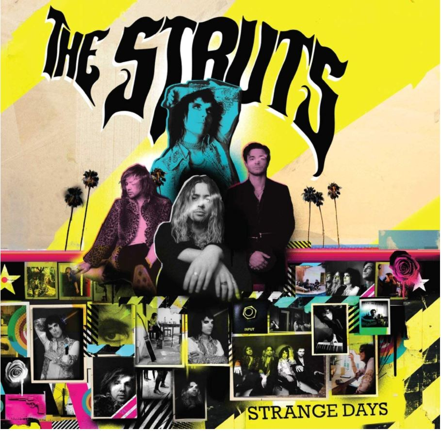 An interview with Adam Slack, Lead Guitarist of U.K. Glam Rock sensation The Struts...