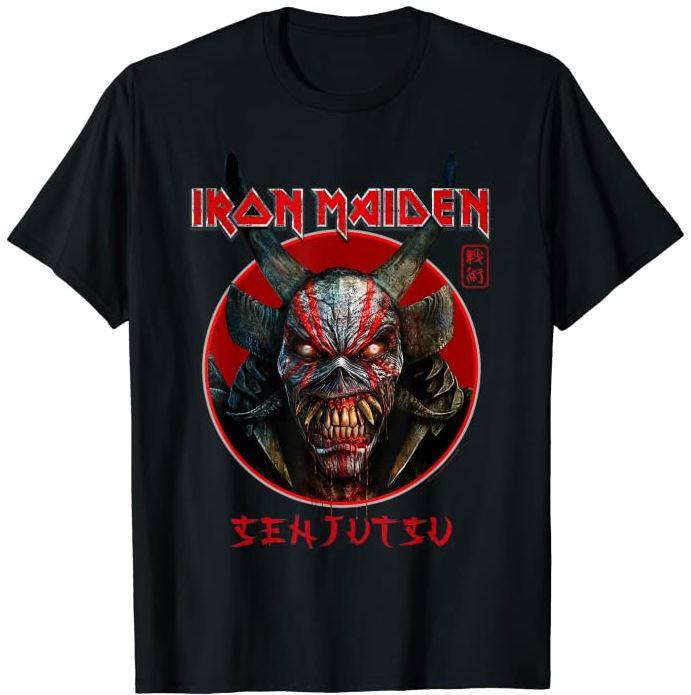 Iron Maiden announce their new album SENJUTSU, out in September. 3