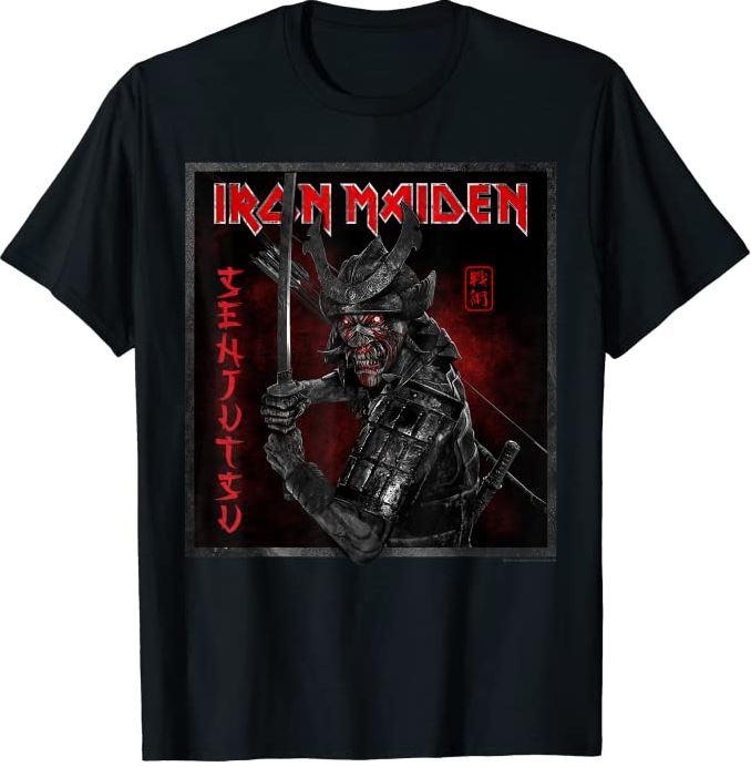Iron Maiden announce their new album SENJUTSU, out in September. 5