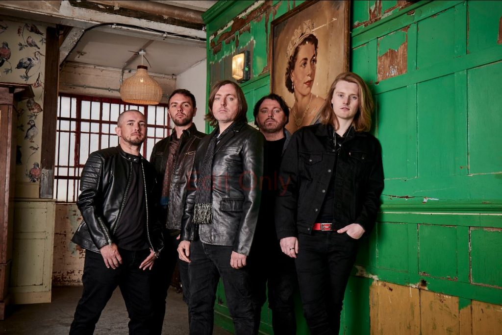 Scarlet Rebels Release a new single 'Storm'
