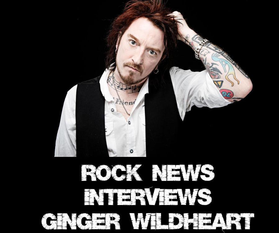 Rock News Interviews Ginger Wildheart