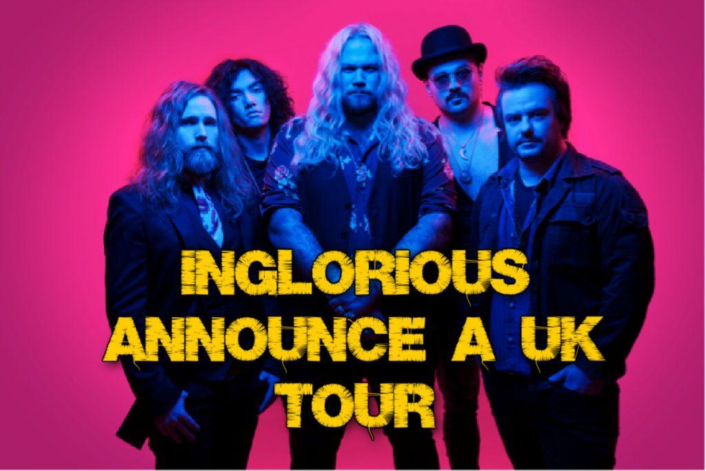 Inglorious announce a UK Tour