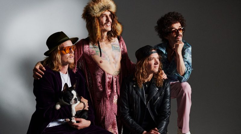The Darkness release a new single 'Nobody Can See Me Cry'.
