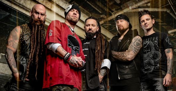 Five Finger Death Punch mark their 11th Number one with Living the dream 2
