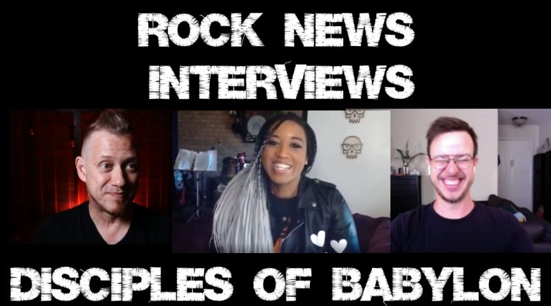 An interview with Disciples of Babylon. Roctavia chats with Eric and Gui.