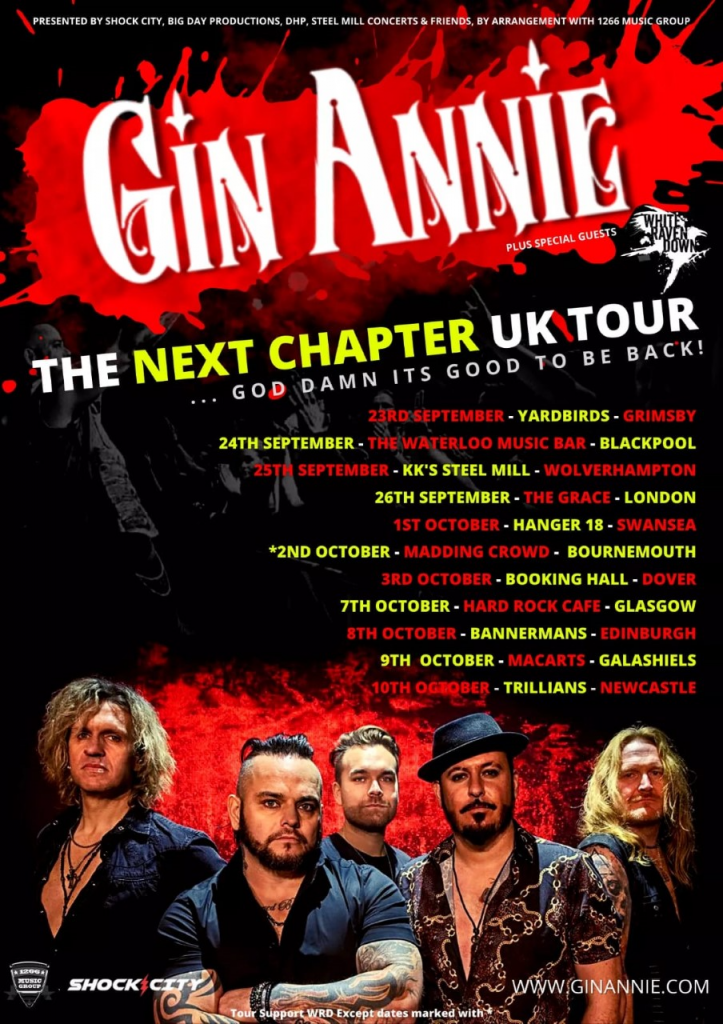 Gin Annie Release a new single 'Jealousy' and head out on tour.