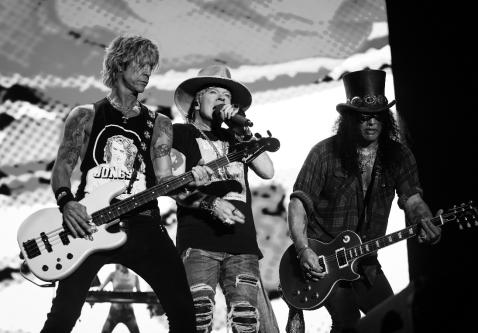 "Guns N' Roses Release New Single ""Hard Skool"""