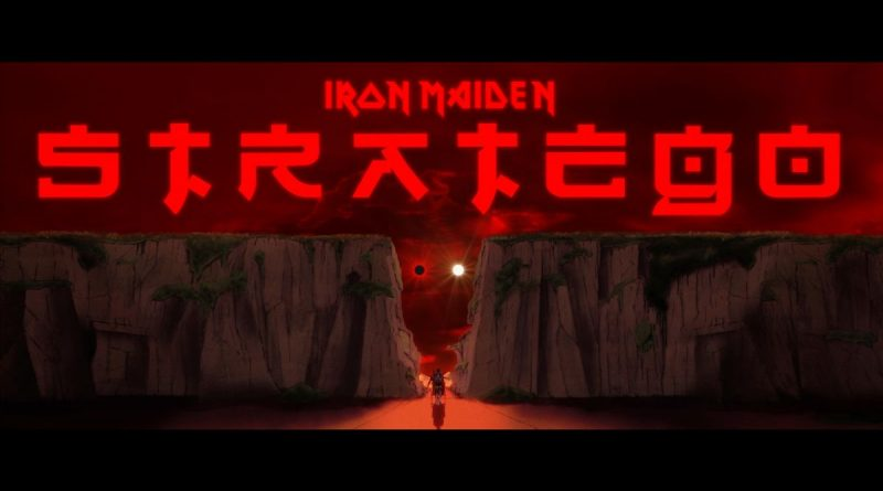 Iron Maiden release a new animated video for 'Stratego'