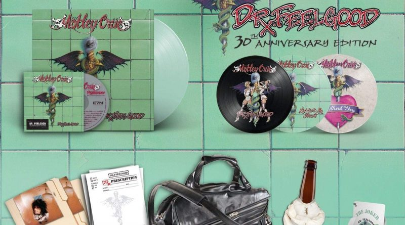 Mötley Crüe releases the digital remaster of their legendary album Dr. Feelgood On October the 1st.