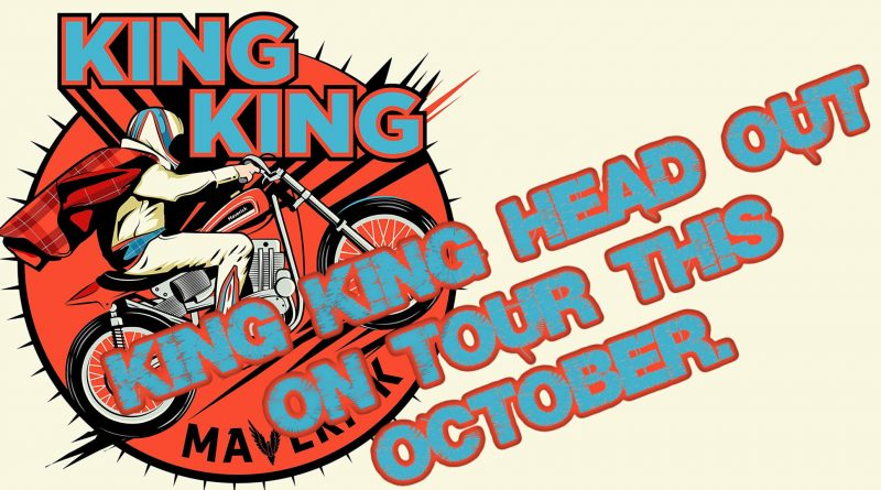 King King head out on tour this October.