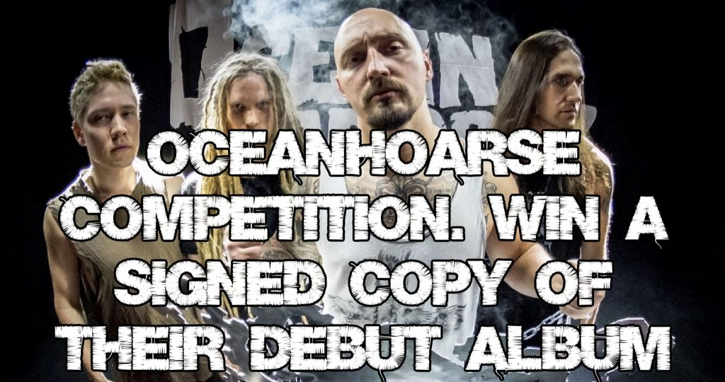 Oceanhoarse competition - Win a signed copy of their debut album 'Dead Reckoning'