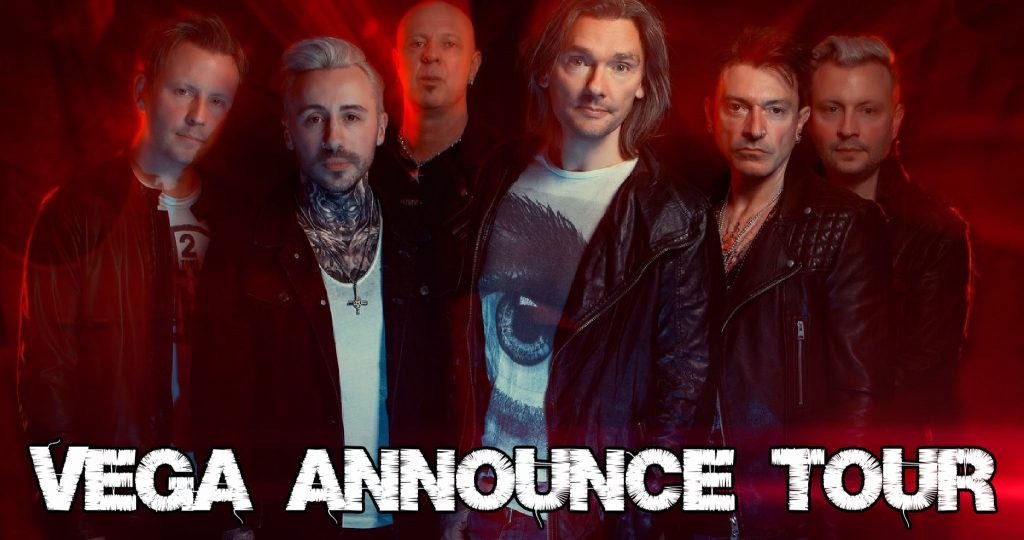 VEGA Announce tour – UK rockers set out on their Anarchy And Unity tour to promote their magnificent seventh album.