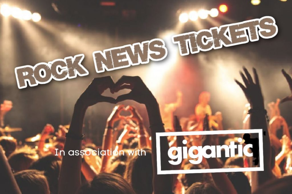 Rock News Tickets – Bringing you the best gigs and tours.